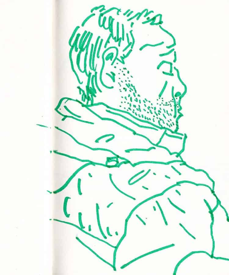 Francesco Gulina_disegno su carta